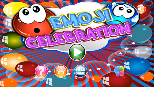 Awesome Emoji Celebration - Party With Cute Emoticons