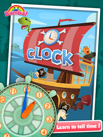 Bamba Clock: Learn to Tell Time Screenshots