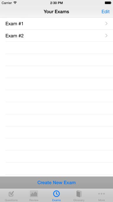 Real Estate Sales Exam High Score Kit - Premium Edition iPhone Screenshot 2