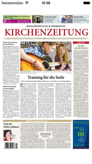 Mecklenburgische Pommersche Kirchenzeitung - epaper