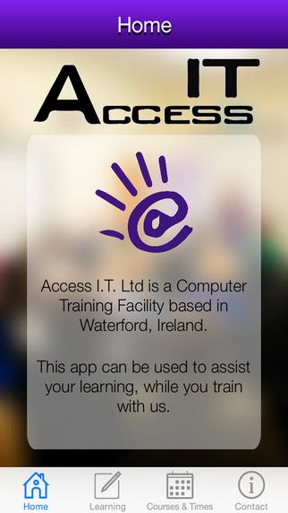 Access I.T. Training