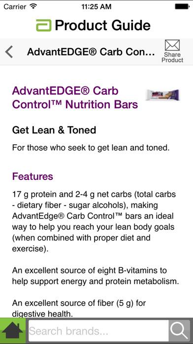 abbott adult nutrition product handbook