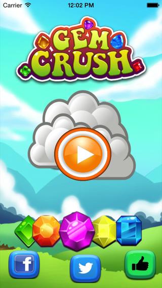 Gems Crush - Gem Blitz Solitaire