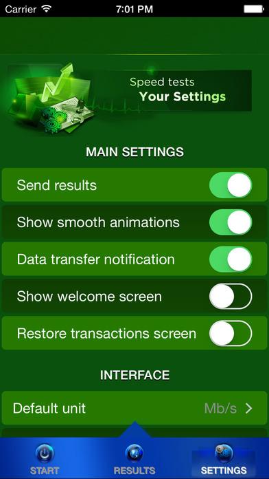 how to delete speed test app