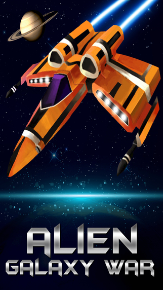 Alien Galaxy War - Fight aliens win battles and conquer the Galaxy on your spaceship. Free