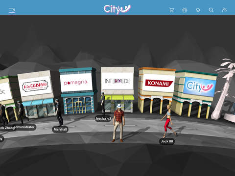 CityU – Virtual online shopping world. Shop with friends win rewards and find designer styles