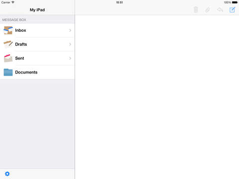 IP Messenger for iPhone iPad Screenshot 1