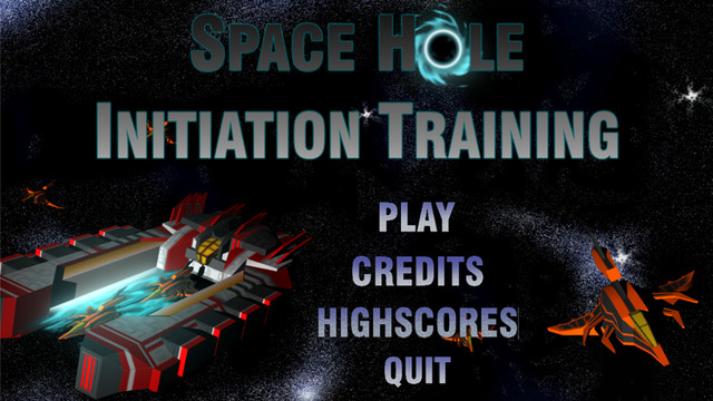 Space Hole Initiation Training