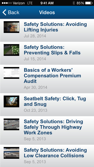 Protective Insurance Mobile Claims Application iPhone Screenshot 3