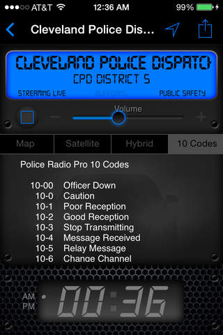 Police Radio Pro - Mobile Scanner screenshot 1