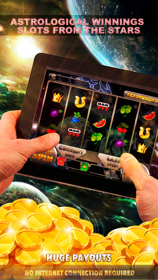 Astrological Winnings Slots From The Stars - FREE Slot Game Vegas Casino
