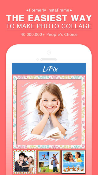 LiPix - Photo Collage Picture Editor Pic Grid Make