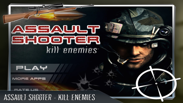 Assault Shooter: Kill Enemies – Realistic 3D Sniper Shooting Game with Addictive Levels