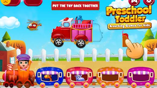 Preschool Toddler Learning Games For Kids