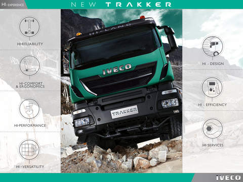 IVECO NEW TRAKKER for iPad