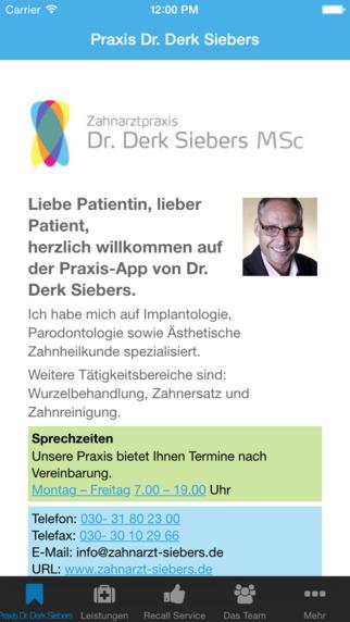 Zahnarztpraxis Dr. Derk Sieber