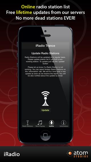 iRadio: Trance iPhone Screenshot 3