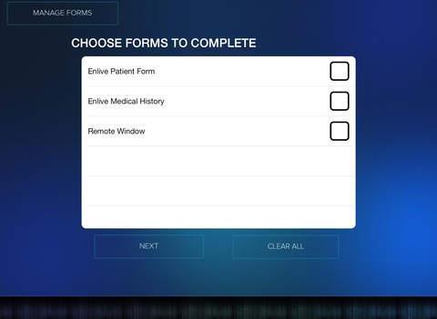 Enlive Paperless forms for Dentrix
