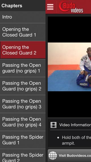 玩免費運動APP 下載Fernando Terere Favela BJJ Vol. 1 Open Guard Passes app不用錢 硬是要APP