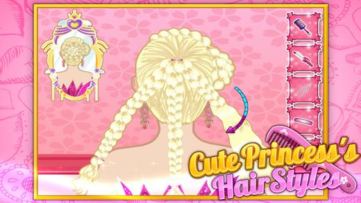 Cute Princess's Hairstyles