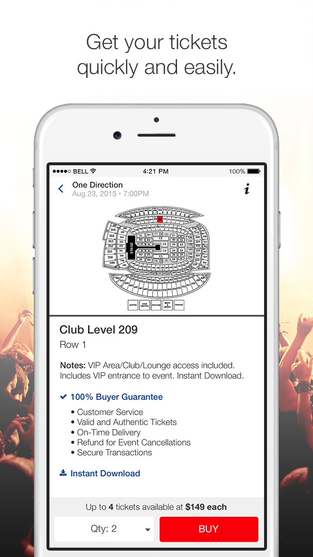 Vivid Seats Tickets 🎫 is the leading mobile ticket app, helping tens of millions of fans buy and sell mobile concert tickets, broadway and sports tickets to the MLB, NBA, NFL and more. Our % Buyer Guarantee means you can be confident that mobile tickets through the Vivid Seats Tickets app will get you into your favorite concerts, Broadway shows or sports event/5(K).