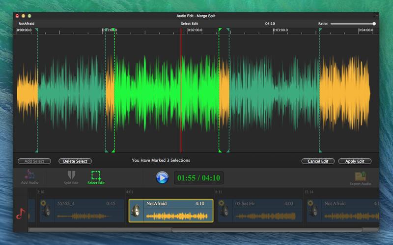 Audio Edit Pro - Merge Split Screenshot - 2