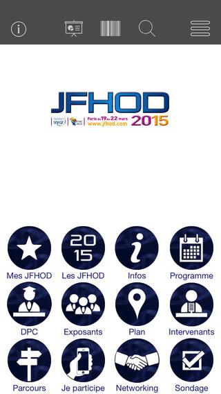 JFHOD 2015 Programme des Journées Francophones d'Hépato-gastroentérologie et d'Oncologie Digestive