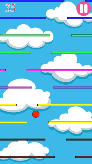 Awesome Red Bally Ball Dash Up - Swipe the dodgeball Pro