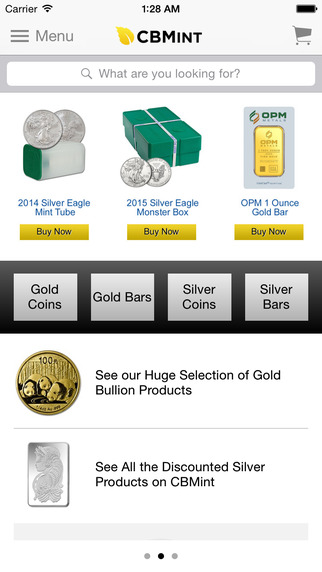 Buy Gold Silver by CBMint