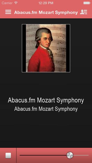 Abacus.fm Mozart Symphony