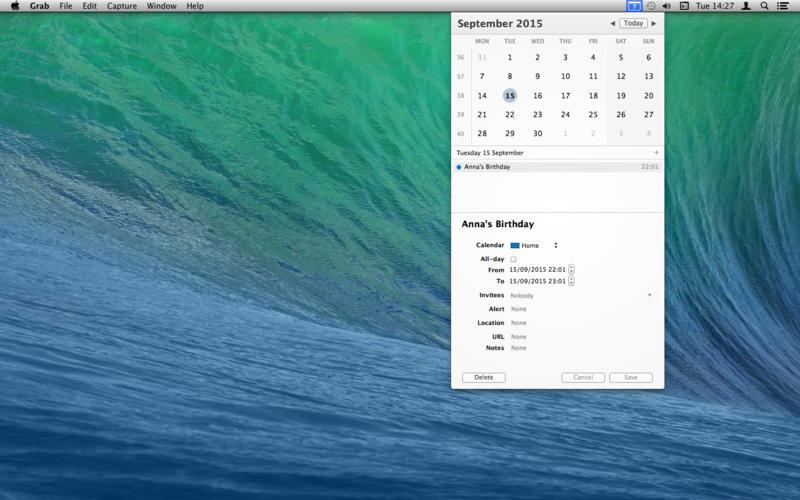 popCalendar Screenshot