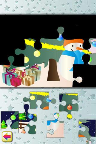 小孩子只要一完成拼图,就会听到掌声鼓励,还有一只小动物演唱圣诞