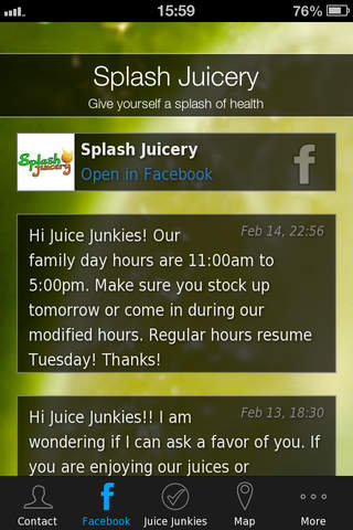 Splash Juicery screenshot 2