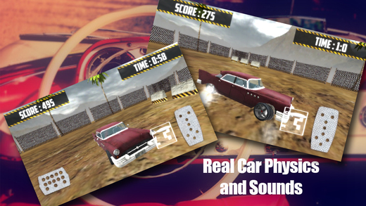 Real Vintage Drift 3D 2015: Car Racing Games for Boys
