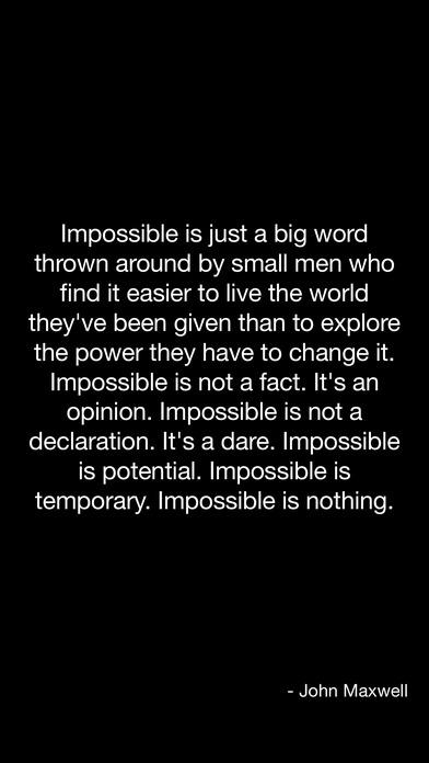 Inspirational Quotes iPhone Screenshot 1