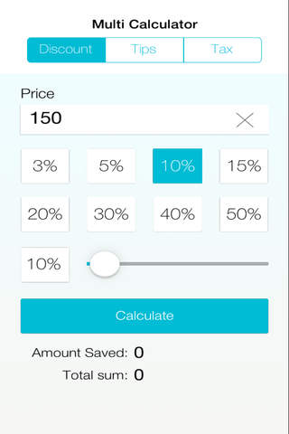 Multi Calculator: Tax, Discount, Tips screenshot 1