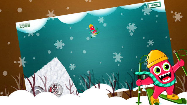Monster Ski : The Winter Skiing Forest Creature - Gold