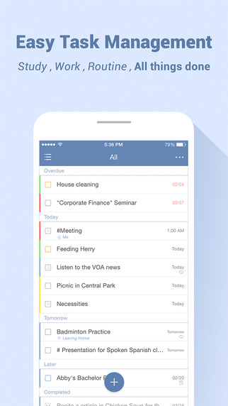 TickTick - your to-do list task management