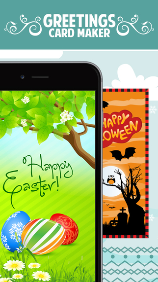 GreetyCards : Make FREE Greetings Cards for Easter Valentine Christmas and New Year