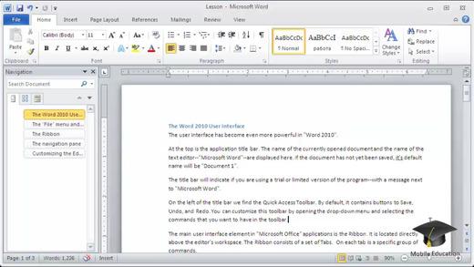 Microsoft Word VC in HD