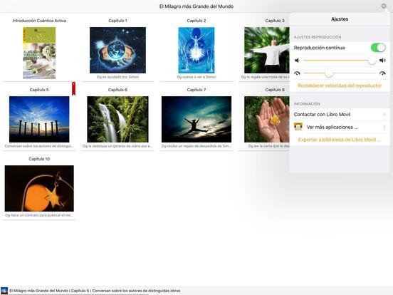 El Milagro más Grande del Mundo - Audiolibro iPad Screenshot 1