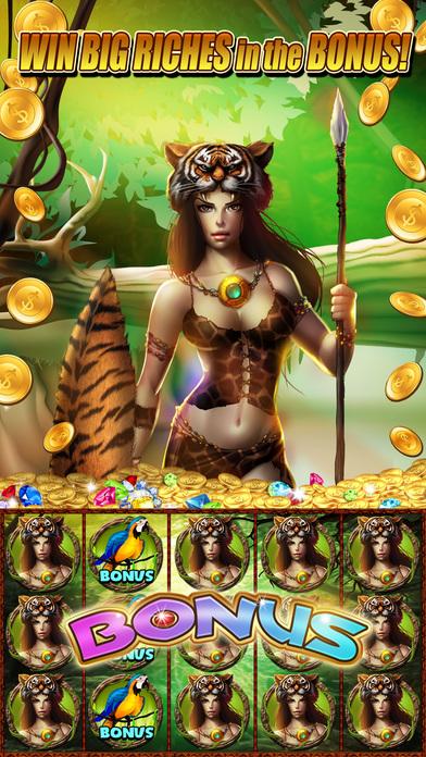 Screenshot 2 Слоты Gorilla King : Джекпот Дом Kong — Fun 777 Лас-Вегас Игровые автоматы