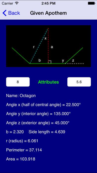 Geometry Pro iPhone Screenshot 1