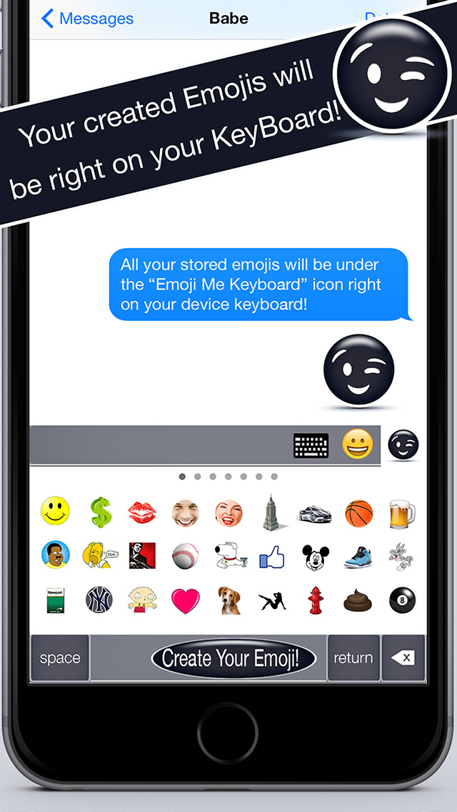 Emoji me keyboard create custom emojis and emoticons for Who can design an app for me