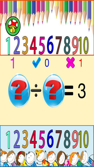 Maths 123 For Kids Free