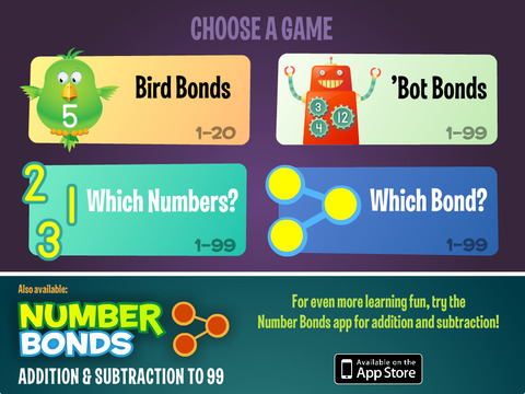Number Bonds: Multiplication Division to 99