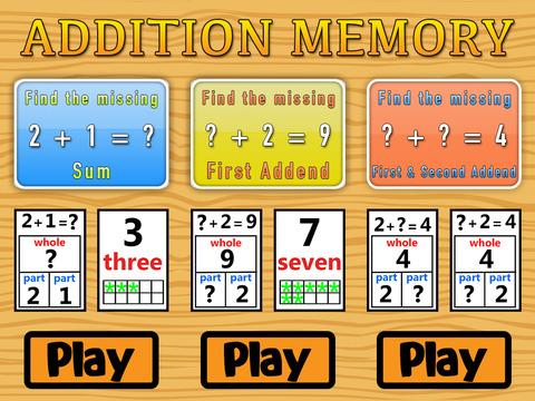 Addition Memory