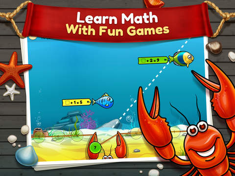 Turbo Math - Pirate Challenge Game: Educational App For Kindergarten, First, Second, Third and Fourth Grade Kids screenshot