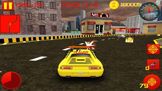 Fast Car War Race 3D