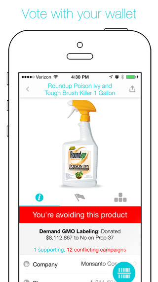 Buycott - Barcode Scanner Grocery Store Shopping B
